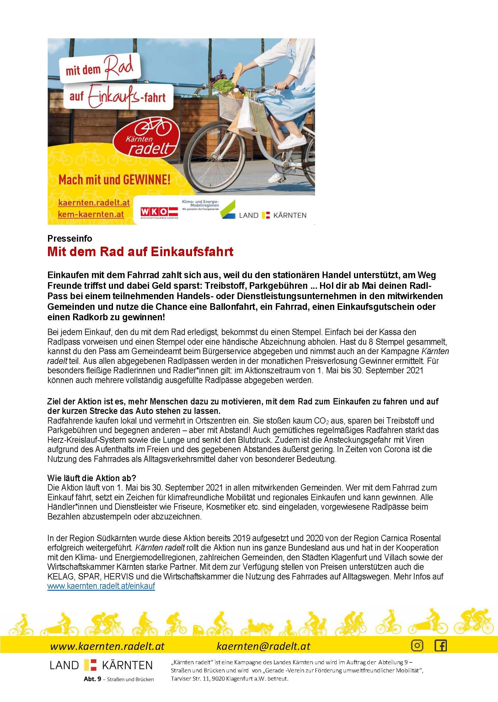 Information Land Kärnten